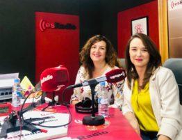 Amparo Carretero y Esther Alonso
